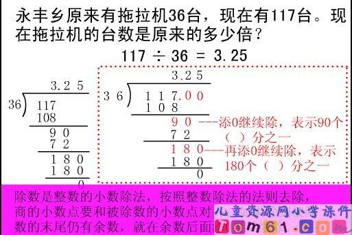 课件是小数的课件除法除数整数评分表图片