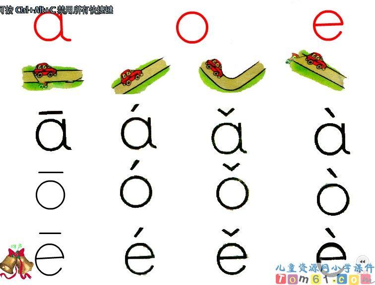 �ya_拼音a o e课件
