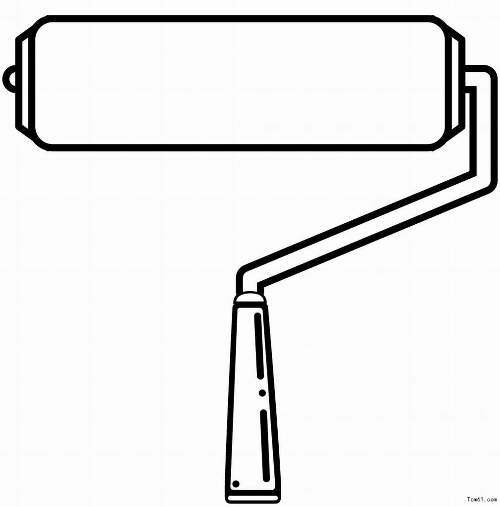 清洁工具手绘图