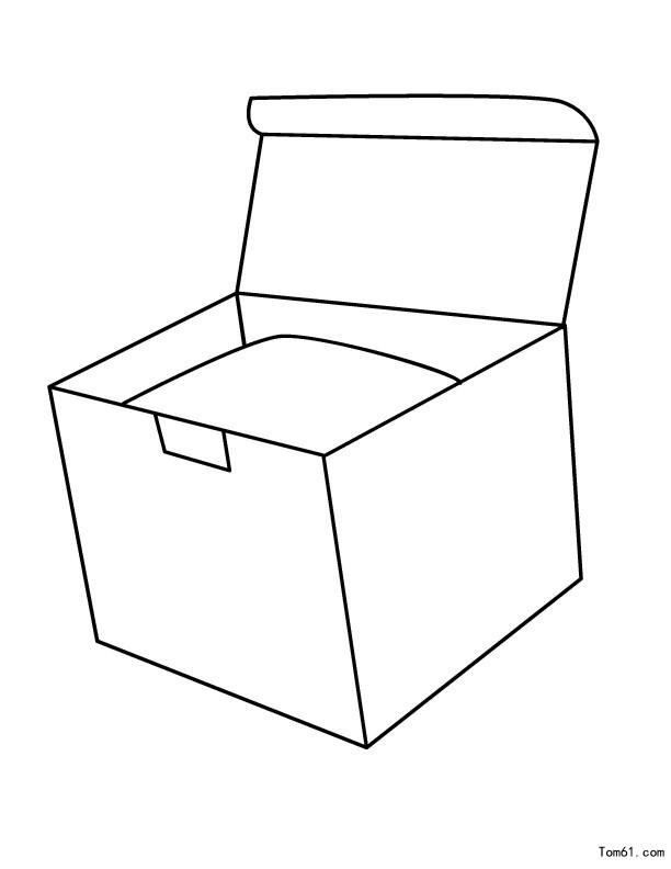 箱子图片_简笔画图片_少儿图库_中国儿童资源网