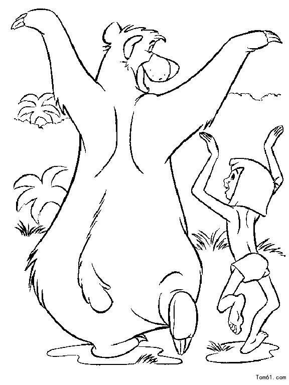森林王子图片_简笔画图片_少儿图库_中国儿童资源网