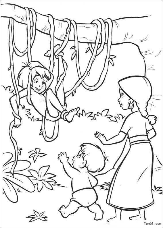 森林王子图片 简笔画图片 少儿图库 中国儿童资源网