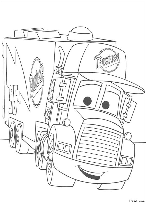 Truck Coloring Pages together with Army Truck additionally 简笔画大全汽车总动员 also Flatbedsemis as well 4691000447. on 4 car carrier tow truck