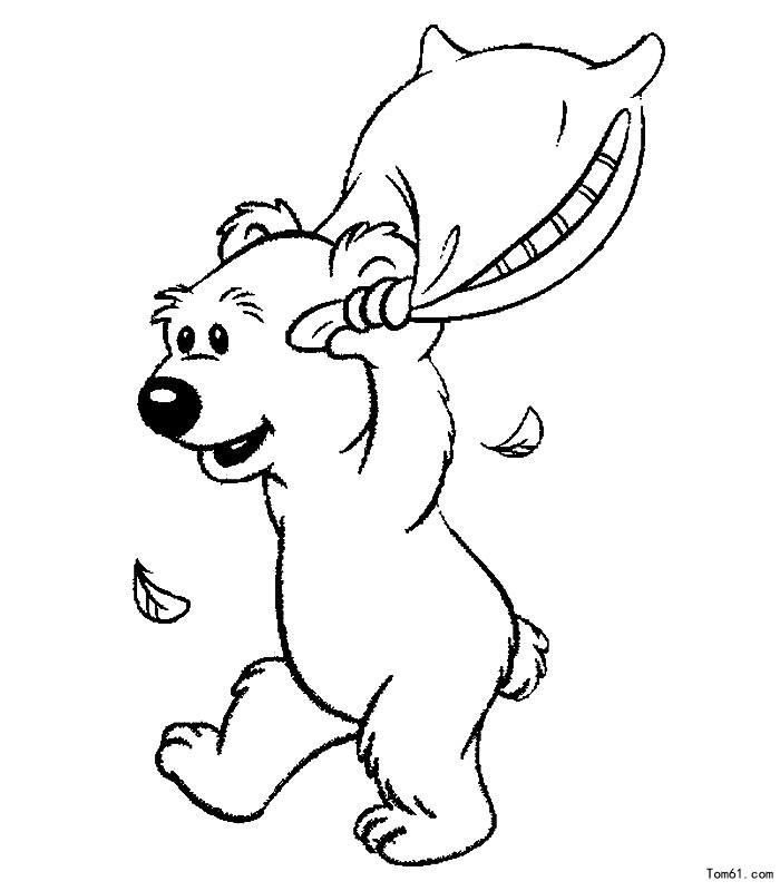 熊-简笔画图片-中国儿童资源网