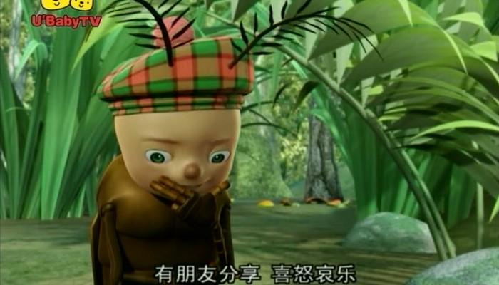 小虫三宝图片_动画片图片