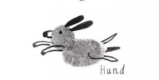 兔子-手指画图集3