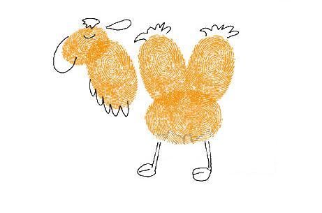 动物世界-手指画图集2