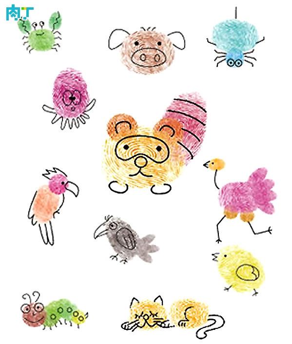 动物世界-手指画图集4