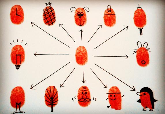 动物世界-手指画图集6