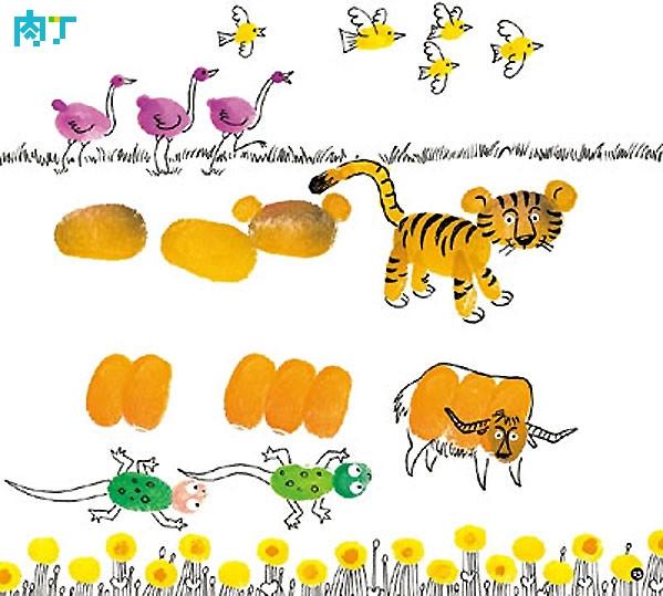 动物世界-手指画图集8