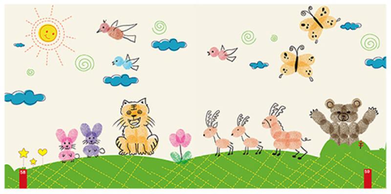 动物世界-手指画图集16