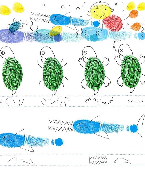 动物世界-手指画图集25