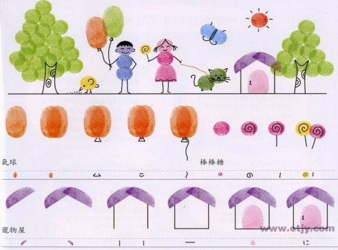 家园-手指画图集