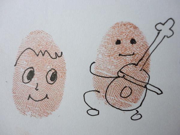 小人-手指画图集2