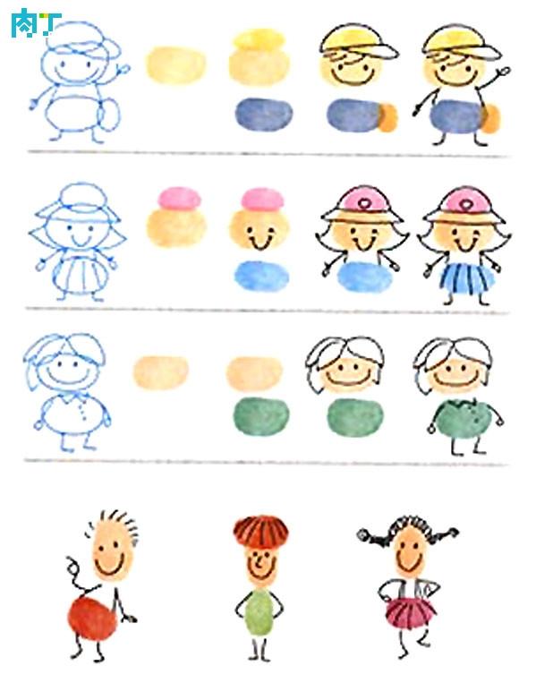 小人物-手指画图集3