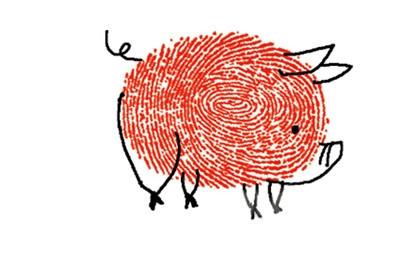 小猪-手指画图集2