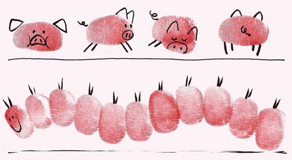 小猪-手指画图集3