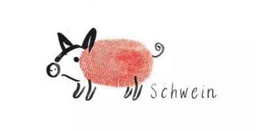 小猪-手指画图集4
