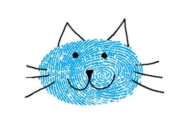 小貓-手指畫圖集