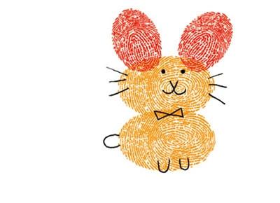 小猫-手指画图集3