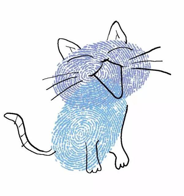 小猫-手指画图集4