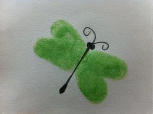 小蜻蜓-手指畫圖集