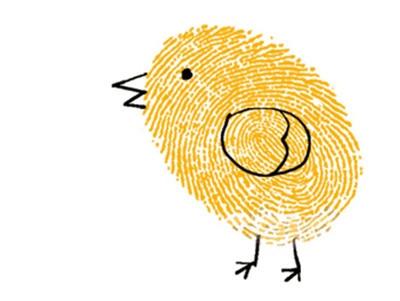 小鸡-手指画图集2