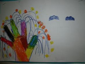 树-手指画图集