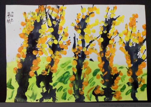 树-手指画图集3
