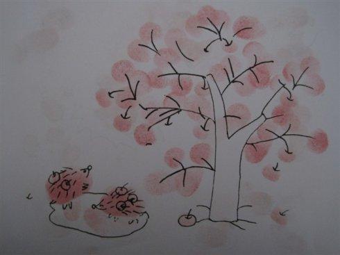 树-手指画图集4