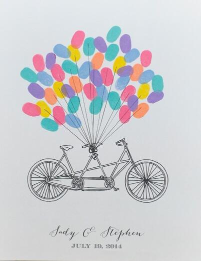 气球-手指画图集