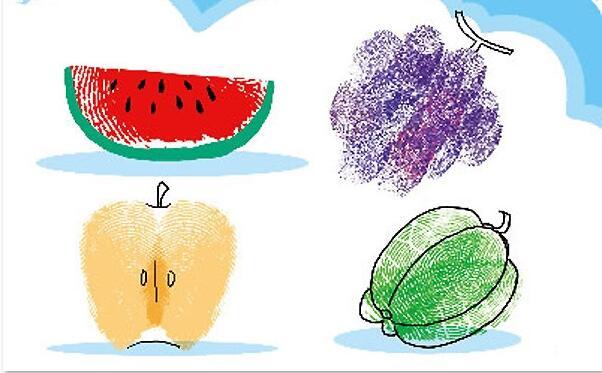 水果-手指画图集