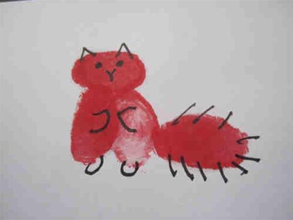 狸猫-手指画图集