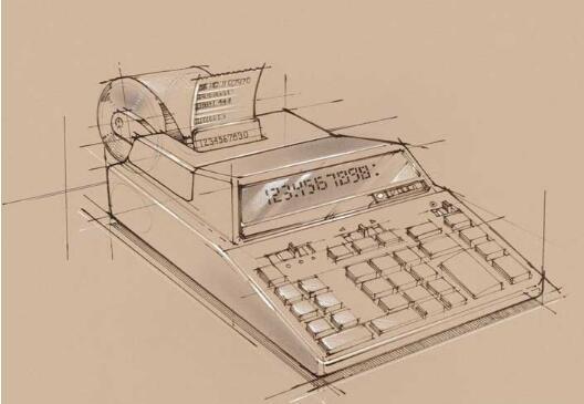 办公用品-素描图集