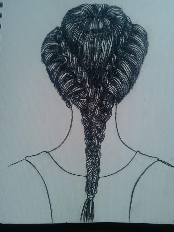 发型-素描图集