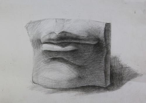 嘴巴-素描图集
