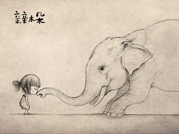 小象-素描图集
