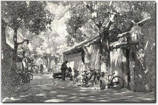 巷子-素描图集