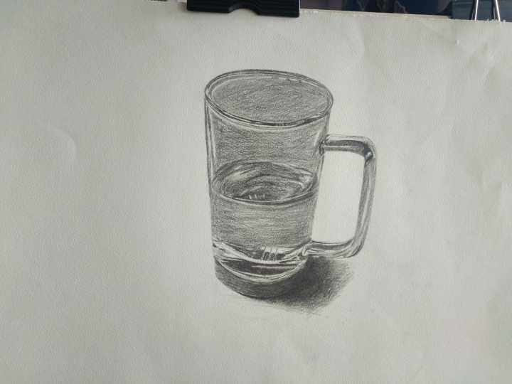杯子-素描图集