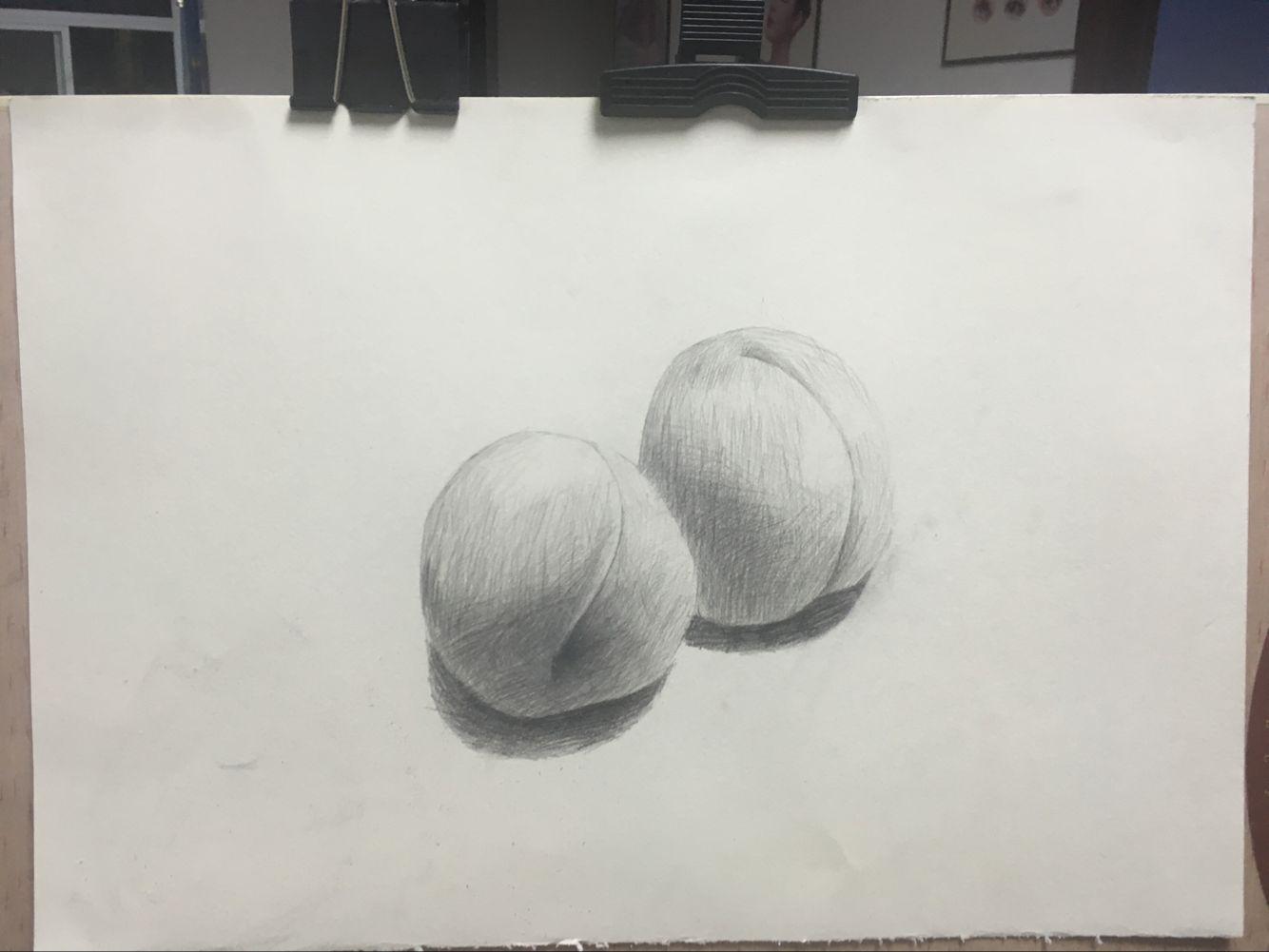 桃子-素描图集