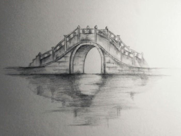 桥-素描图集