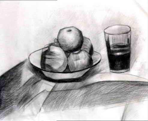 水果-素描图集