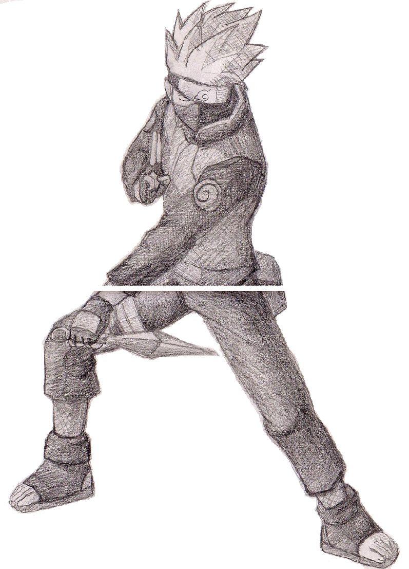 火影忍者-素描图集