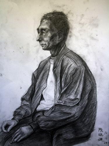 老人-素描图集