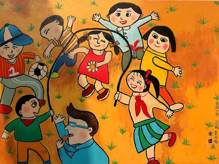 儿童节-水彩画图集