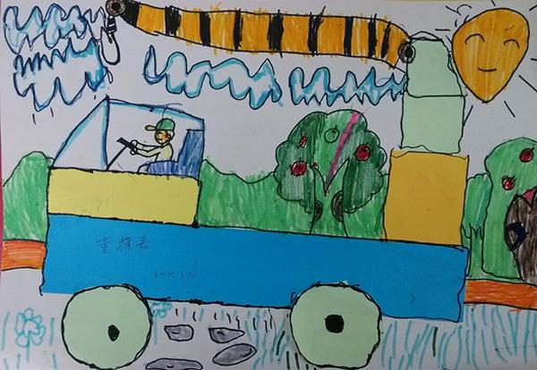 农用车-水彩画图集