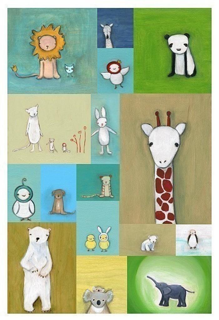 动物园-水彩画图集