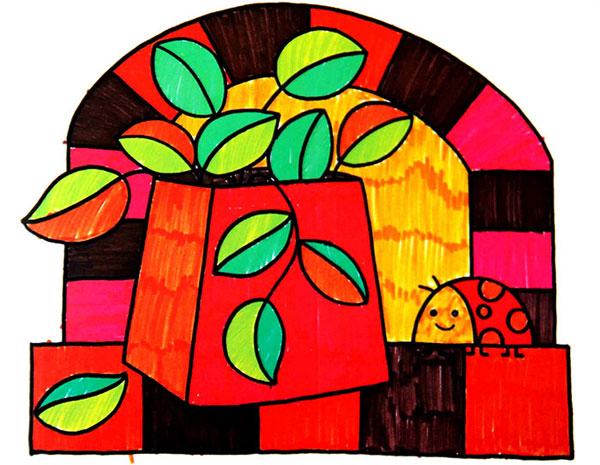 叶子-水彩画图集