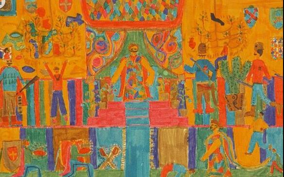 国王和王后-水彩画图集