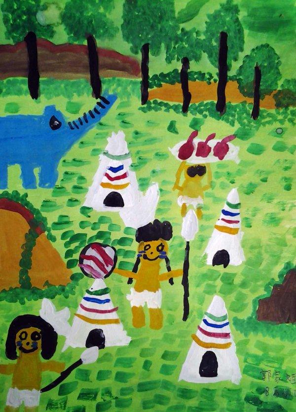 土著人-水彩画图集